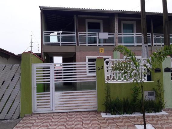 4248-sobrado Novo 3 Dormitórios Piscina Lado Praia Itanhaém