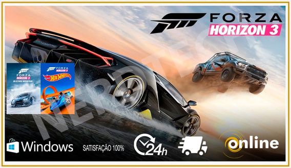 Forza Horizon 3 Pc Hot Wheels Blizzard Mountain Nevasca Orig