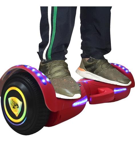 Malumeta Patineta Electrica Waveboard Scooter Smart Luces