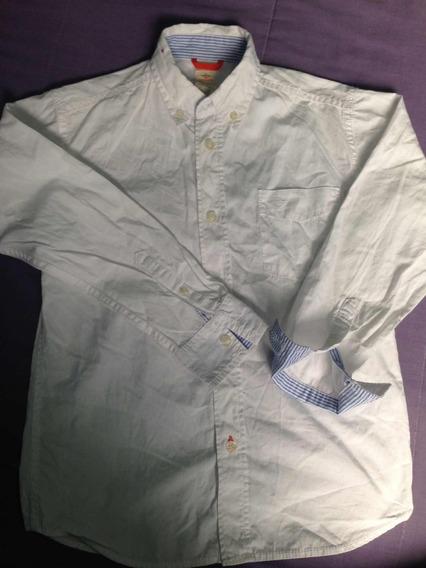 Camisa Dockers Talla 8 Para Niño De 6-8 Años