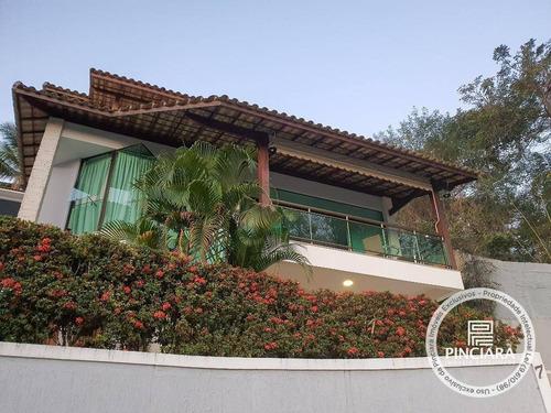 Imagem 1 de 30 de Aceita Permuta - Casa Com 4 Quartos À Venda, 302 M² Por R$ 940.000 - Maria Paula - Niterói/rj - Ca0131