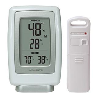 Acurite 00611a3 Termometro Inalambrico De Interior Y Sensor