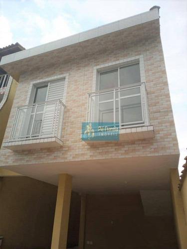 Imagem 1 de 28 de Casa Com 2 Dormitórios À Venda, 49 M² Por R$ 198.000 - Cidade Naútica - São Vicente/sp - Ca0222