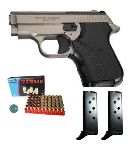 Pistola Traumatica Ekol Volga+50tiros+2 Proveedores
