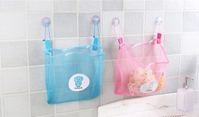 Sacola Organizadora De Brinquedos Para Banheiro Bebe