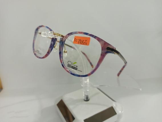 Armazón Óptico Olive Jq, Optometria, Varios Colores, Lentes