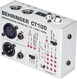 Tester De Cables Behringer Ct100