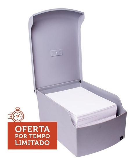 Desumidificador De Papel Bivolt Plástico Cinza 1500fl Menno