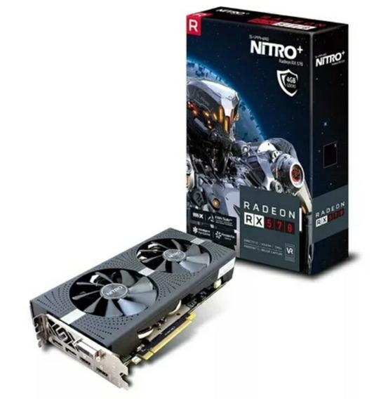 Tarjeta Gráfica Sapphire Nitro+ Radeon Rx 570 4gb 256-bit