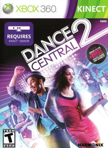 Dance Central 2 Xbox 360 Original Com Manual Frete R$12