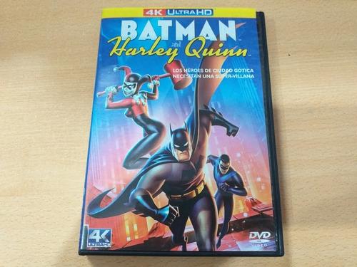 Imagen 1 de 1 de Batman & Harley Quinn, Película Animada En Dvd Año: 2017