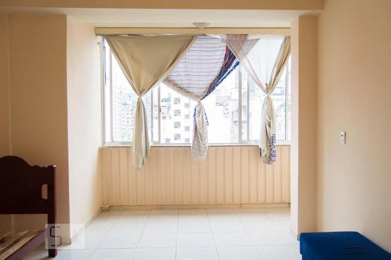 Apartamento Para Aluguel - Santa Cecília, 1 Quarto, 31 - 893033275