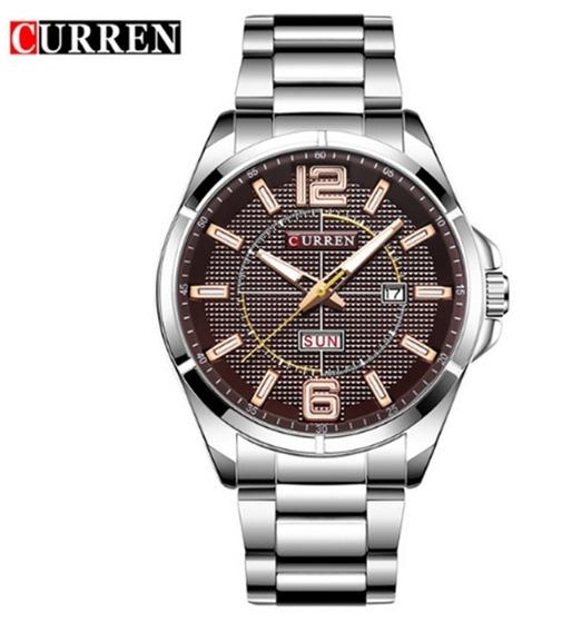 Relógio Masculino Curren 8271 De Pulso Original Barato