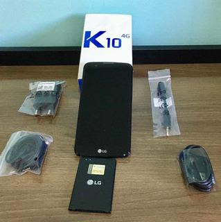 LG K10 Dual Chip 16gb 4g Tv Digital - Dourado - Leia Anúncio