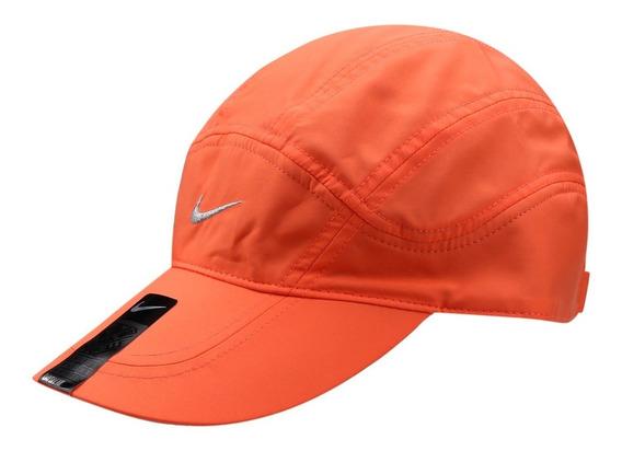 Boné Nike Dri-fit Spiros (laranja Claro) #nikerun #running