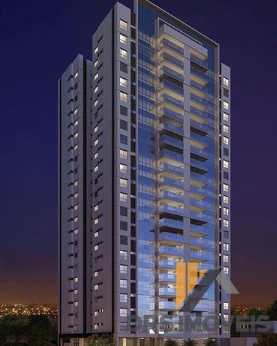 Apartamento Padrão Com 3 Quartos No Edifício Grand Palais - Ap653-v