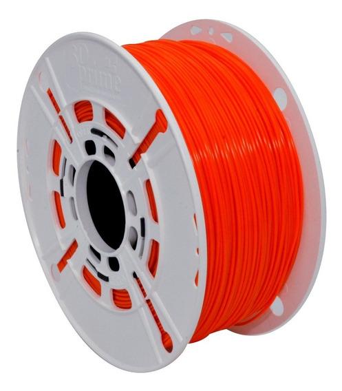 Filamento 3d Prime Pla Laranja 1,75mm 1kg