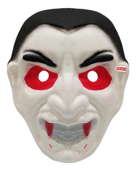 Máscara Drácula Vampir Disfraz Halloween - Ciudad Cotillón