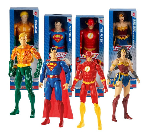 Dc Comics Figuras Mattel Justice League True Moves