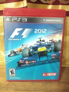 Fórmula 1 2012 - Ps3