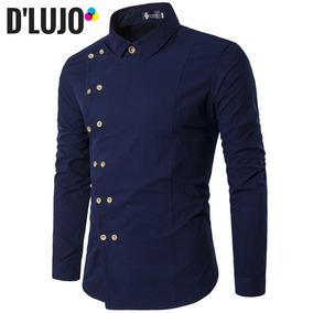 940d55f4cb Camisas Hombre Elegantes Azul - Ropa y Accesorios en Mercado Libre ...