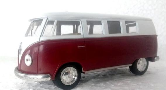 Volkswagen Vw Kombi 1962 Escala 1/32 Carrinho Miniatura