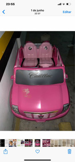 Carrinho Elétrico Da Barbie Power Wheels