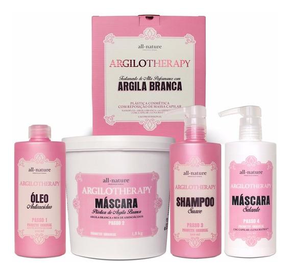 Kit Argilotherapy All Nature - Argiloterapia Nova Embalagem