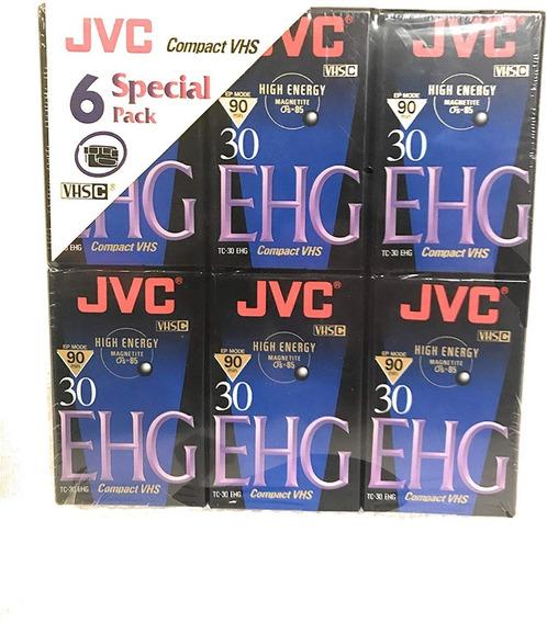 Jvc Tc30 Ehgb 90 Minutos .fita Vhs-c Lacrada Nova R$11,99