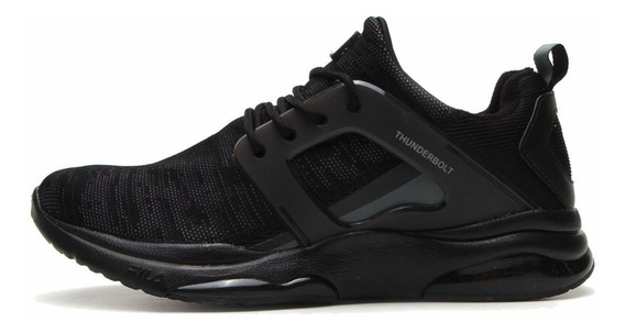 Tenis Fila Thunderbolt Training Academia All Black
