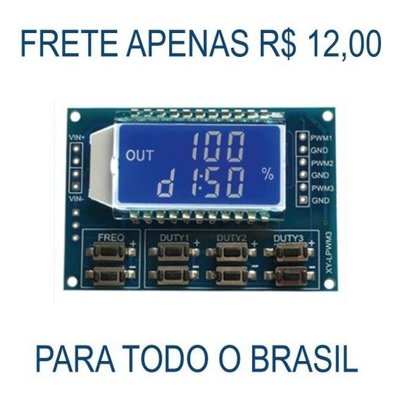 Gerador Pwm 3 Canais Ajustável 11hz-150 Khz 3.3v - 30v