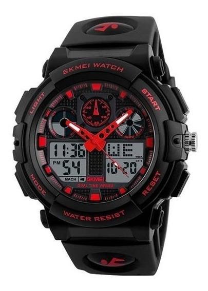 Relógio Masculino Esporte 50m Resistente Água 1270