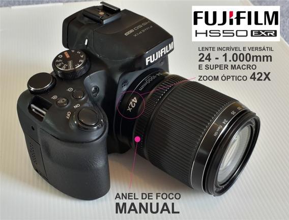 Câmera Fujifilm - Finepix Hs50 Exr + Kit Completo