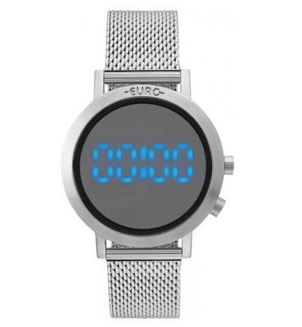 Relógio Euro Feminino Fashion Fit Prata Eubj3407ab/3p Á Vist