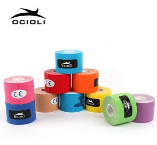 10 Unid - Kinésio Tape - Bandagem Elástica - Fisioterapia