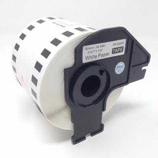 Cinta Continua Para Brother C/eje Dk2205 62mm31m Ql-700 800