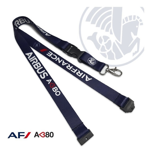 Lanyard Livery Af A380  - Remove Before Flight ®