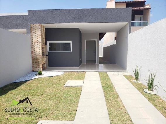 Casa Com 3 Dormitórios À Venda, 95 M² Por R$ 160.000 - Pedras - Fortaleza/ce - Ca0352