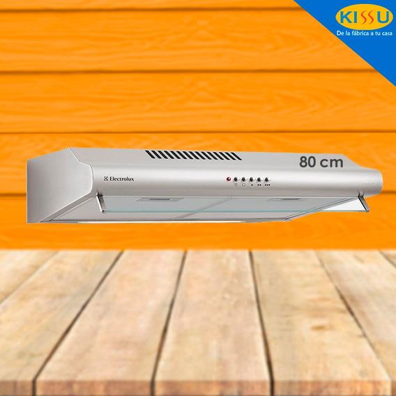 Campana Extractora Electrolux 3 Velocidades 80 Cm Acero Inox