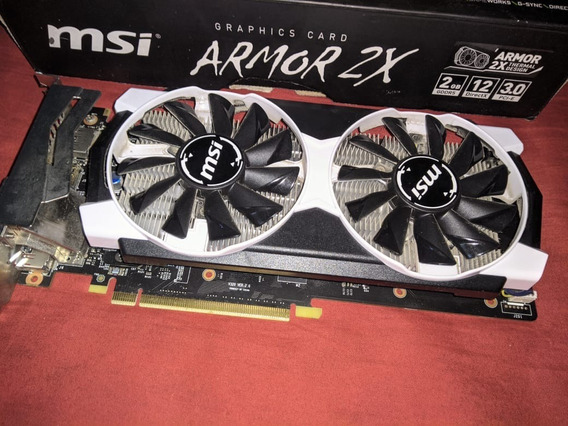 Nvidia Msi Gtx 950 Oc Rinde Como Gtx 1050 O Rx 560