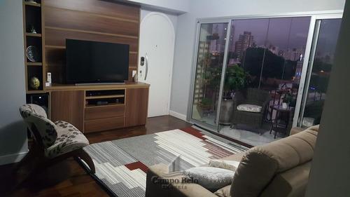 Apartamento Campo Belo 3 Dts Venda 100 M2 950 Mil - Ap1948-1