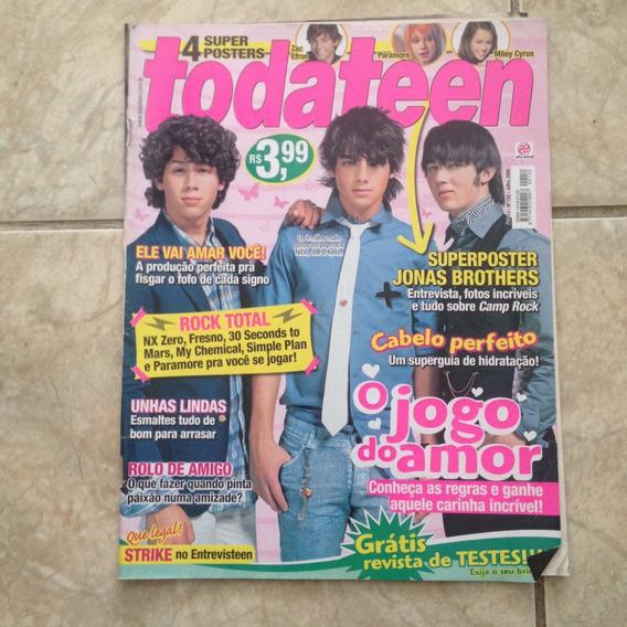 Revista Toda Teen 152 Jul2008 Jonas Brothers Zac Efron Miley