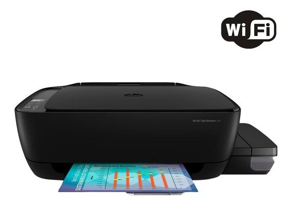 Multifuncional Hp 416 Tanque De Tinta Colorida Wi-fi