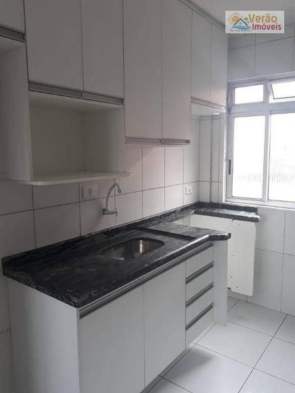 Apartamento Com 2 Dormitórios Para Alugar, 48 M² Por R$ 650,00/mês - Conjunto Guapiranga (cdhu) - Itanhaém/sp - Ap0092