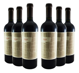 Vino Casarena Sv Malbec Lauren´s Vineyard Agrelo Caja Por 6