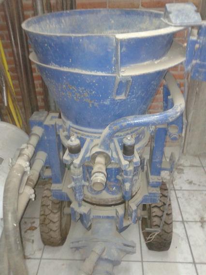 Lanzadora De Concreto Marca Aliva Modelo 250