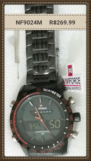 Naviforce Nf9024m Com Preto