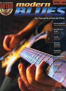 Guitar Play-along Volume 166 : Modern Blues Isbn: 97814234