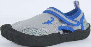 Zapato Acuatico Niño Marca Koala Kids Modelo Shark Gray