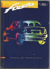 1996 Manual Do Proprietário Automóvel Ford Fiesta E Livretos